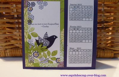 Calendrier 2013 - Betsy's Blossoms