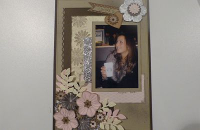 Blog Hop: page de scrap en secret garden de Stampin'Up!