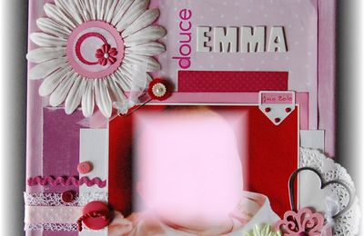 "Canvas "" Douce Emma"""