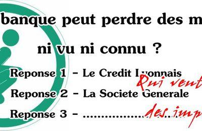 Quand les Français remboursent 1,7 milliards à la Societe Generale (super bouclier)