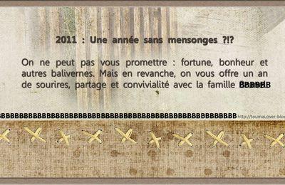 Faites vos voeux...pour 2011 qu'est-ce qu'on vous souhaites ?
