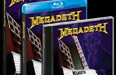 MEGADETH: Rust In Peace-Live (2010-DVD)[Thrash-Metal]