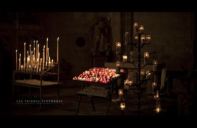 Cathédrale de Rodez : Les prières éphémères