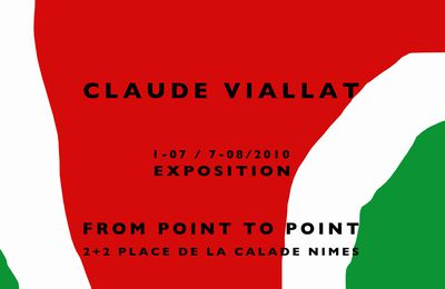 CLAUDE•VIALLAT INVITATION 2010