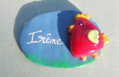 badge cocotte
