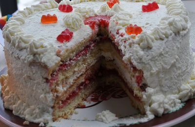 Layer Cake Fraise/Chantilly
