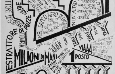 Fortunato Depero (1892-1960) : Subway in New York, 1929