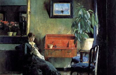 "Deux ""couseuses"" scandinaves : Harriet Backer et Anna Ancher"