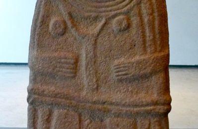 Les statues-menhirs du musée Fenaille à Rodez