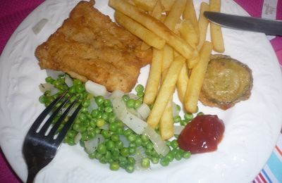 Fish and chips sans friteuse