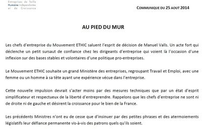 ARTICLE MOUVEMENT ETHIC