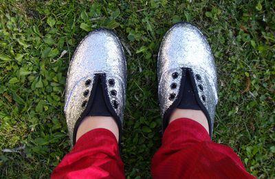 Glitter shoes ! tutoriel