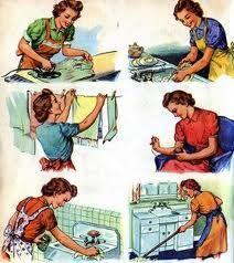 Travail non rémunéré, suite (la femme au foyer)