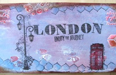 Mini album Londres - couverture