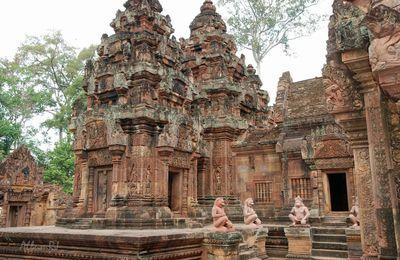 Banteay Srei – Angkor – Cambodge.