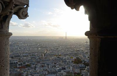 Tour Eiffel depuis le Sacré Coeur