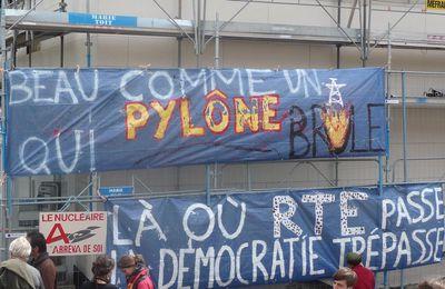 Procès d'un militant anti THT à Coutances ( 50 ) : quand AREVA veut se faire Justice...