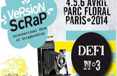 Version Scrap défi n° 3