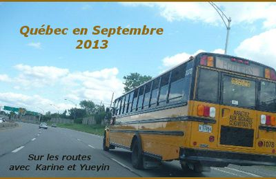 Québec en septembre 2013 - le bilan