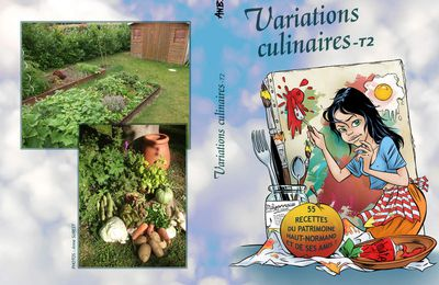 Couv' Variations Culinaires T2