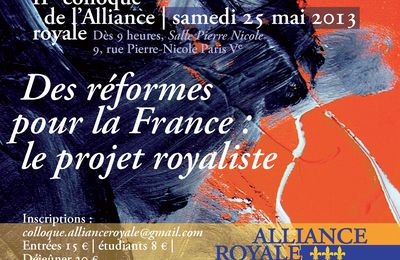 IIè colloque de l'Alliance royale