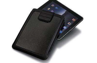 Pochette carbone design pour iPad