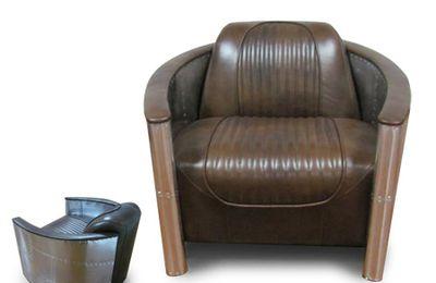 Fauteuil en cuir design chez Myfab