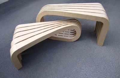 Banc design LORYN by Christophe Flahaut