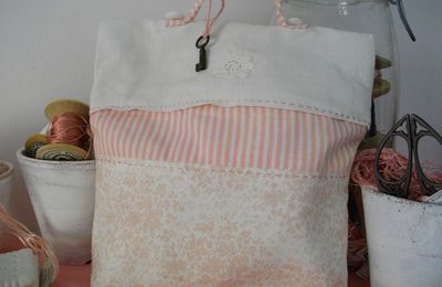POCHETTE ROSE TENDRESSE