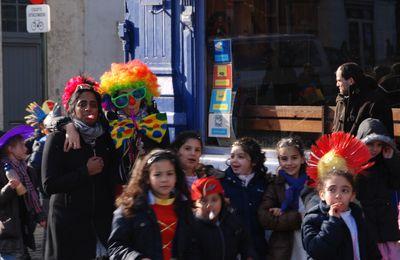 Carnaval des enfants dans les Marolles.