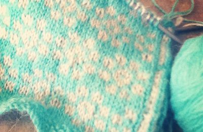 Coneflower cardigan