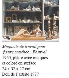 « Henry Moore, l'atelier, sculptures et dessins » au Musée Rodin