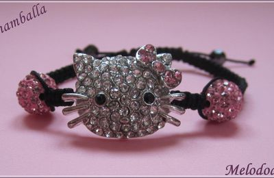 Bracelets Shamballas Hello Kitty