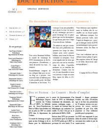 Doc et Fiction - Le Bulletin