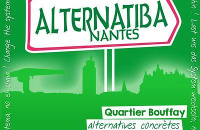 Alternatiba Nantes, le village des alternatives, en route vers 2015