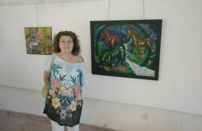 Claudine Suret-Canale l'artiste-peintre de l'infini.