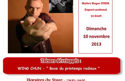 Stage de Wing Chun à Briec