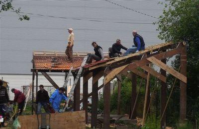 Chalet incendié au jardin partagé du Plateau : « Nous le reconstruirons encore plus beau »