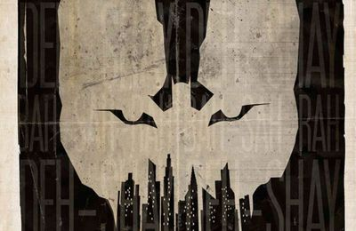 """The Dark Knight Rises"" : un poster de fan génial."
