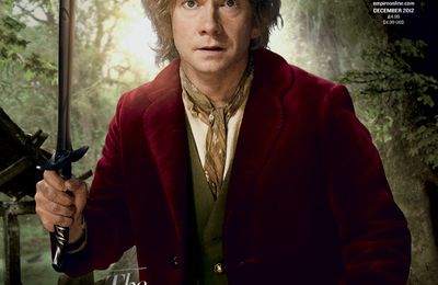 """The Hobbit"" s'affiche encore à la une du magazine ""Empire""."