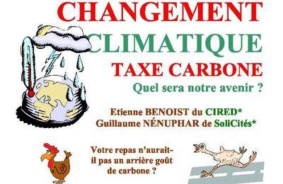 Beynes : Conférence sur le Changement Climatique et la Taxe Carbone