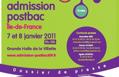 Salon admission postbac 2011