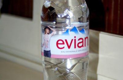 Bouteille EVIAN 500 ml.