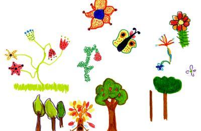 dessins naïfs pour l'épisode 20 de Wakfu : l'arbe de vie