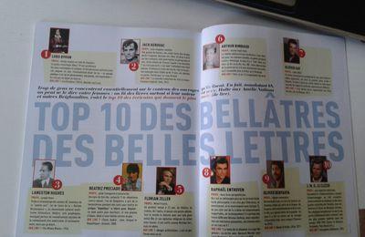 Fluide Glacial, son top 10 des écrivains goalés et Marc Levy...