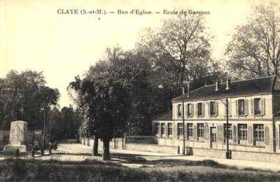 Certificat d'études canton de Claye : Examen du Vendredi 14 juin 1901