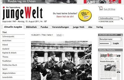 """Commémoration du mur de Berlin : """"Nous disons, ici, simplement : Merci !"""""""