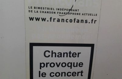 "Vigilance! ""Chanter provoque le ... "" !!"