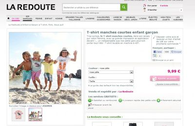 La Redoute Fail photo with kids and nudity