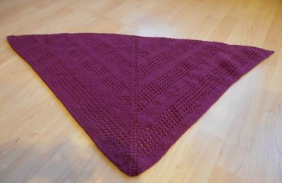Shawl Aliselles : plein de photos !